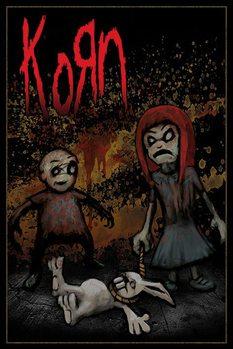 KORN - dead bunny Affiche