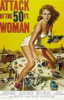 L'attaque de la femme de 50 pieds - Teaser Affiche