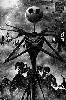 L'Étrange Noël de monsieur Jack - Shadow Affiche