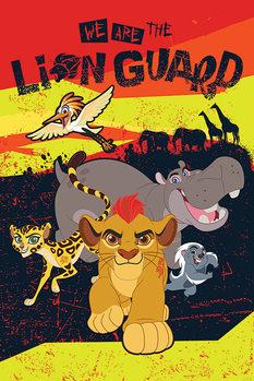 La Garde du Roi lion - We Are Affiche