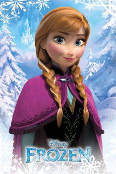 La Reine des neiges - Anna Affiche