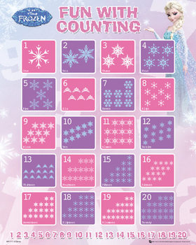 La Reine des neiges - Counting Affiche