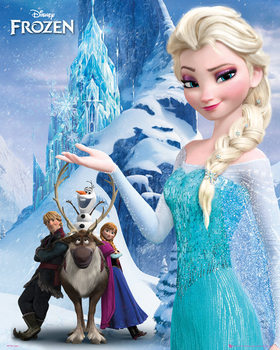 La Reine des neiges - Mountain Poster