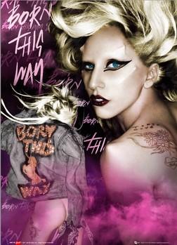 Lady Gaga Poster en 3D