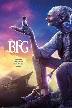 Le bon gros géant - One Sheet Affiche