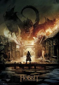 Le Hobbit 3: La Bataille des Cinq Armées - Smaug Affiche