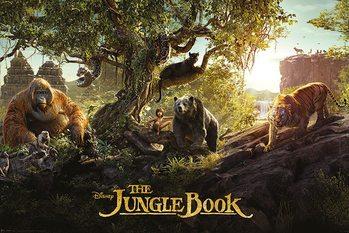 Le Livre de la jungle - Panorama Affiche