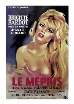 Le Mépris - Briggitte Bardot Poster