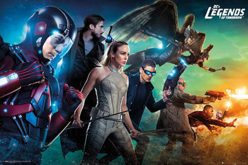 Legends of Tomorrow - Team Affiche