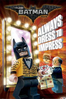 Lego Batman - Always Dress To Impress Affiche