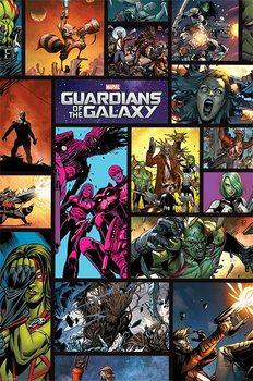 Les Gardiens de la Galaxie - Comics Affiche