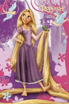LES PRINCESSES DISNEY - rapunzel Affiche