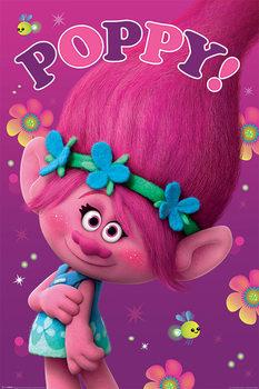 Les Trolls - Poppy Affiche