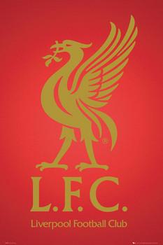 Liverpool - club crest 2013 Affiche
