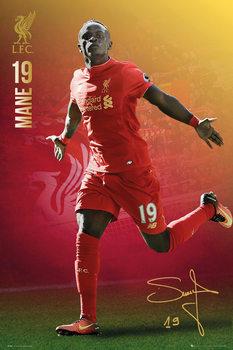 Liverpool - Mane 16/17 Affiche