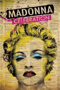 Madonna - celebration Affiche