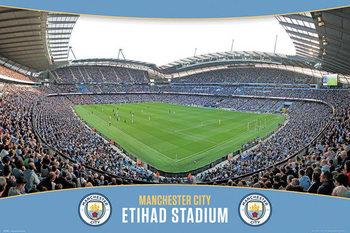 Manchester City - Etihad Stadium Affiche