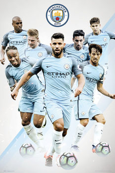 Manchester City - Players Affiche