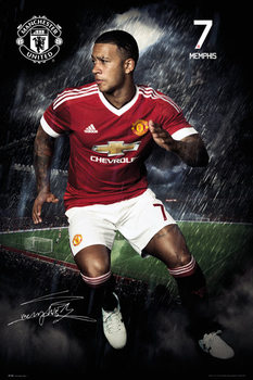 Manchester United FC - Depay 15/16 Affiche