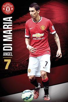 Manchester United FC - Di Maria 14/15 Affiche
