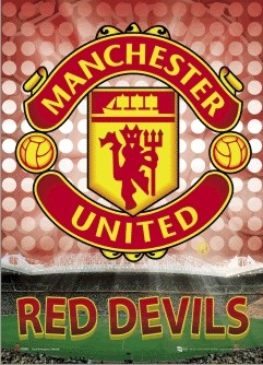 MANCHESTER UNITED - glory Poster en 3D