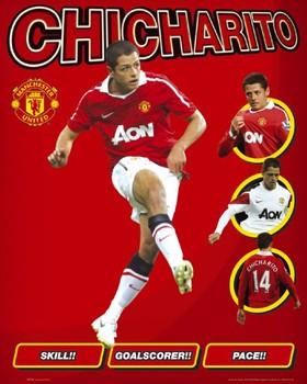 Manchester United - hernandez Affiche