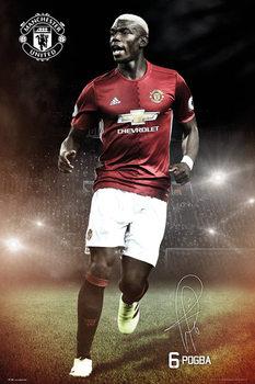 Manchester United - Pogba 16/17 Affiche