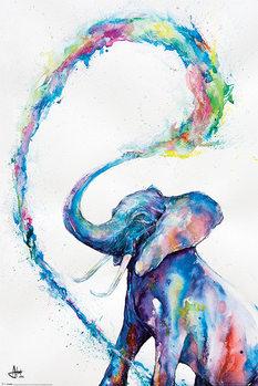 Marc Allante - Elephant Affiche