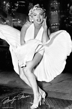 Marilyn Monroe - New York Dress Affiche