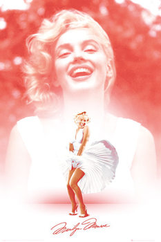 Marilyn Monroe - Pink Affiche