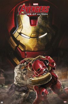 Marvel - Avengers age of Ultron, Hulkbuster Affiche