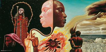 Mati Klarwein Miles Davis: Bitches Brew  Affiche
