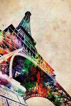 Michael Tompsett - Eiffel tower Affiche