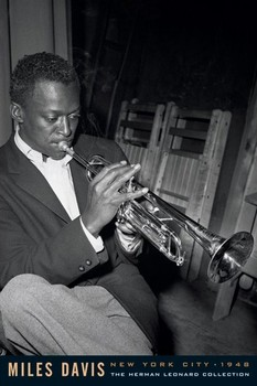 Miles Davis - leonard Poster