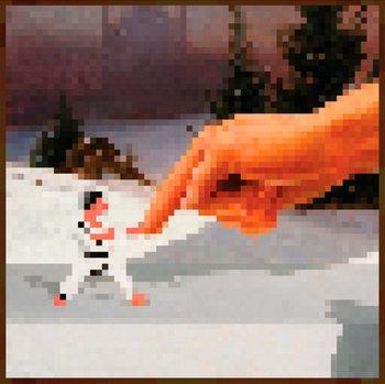 Minecraft - Hand Affiche
