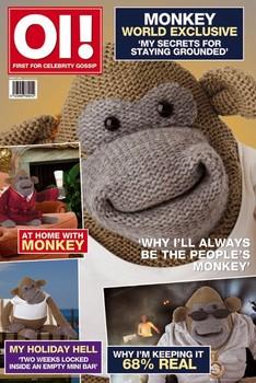 Monkey magazine Affiche