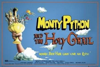 MONTY PYTHON - santo grial  Affiche