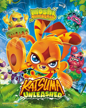 Moshi monsters - Katsuma Unleashed Affiche