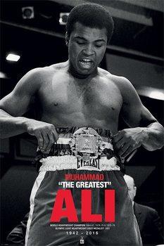Muhammad Ali - Belt Affiche