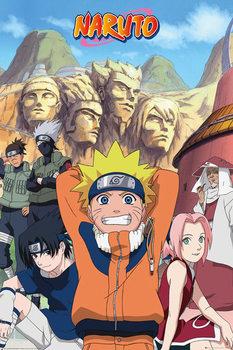 Naruto - Hokage Affiche