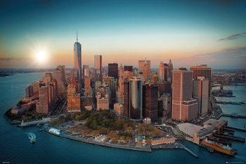 New York - Freedom Tower Manhattan Affiche