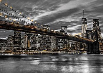 New York - Manhattan, Assaf Fank Affiche