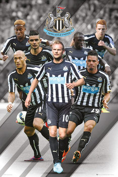 Newcastle United FC - Players 14/15 Affiche