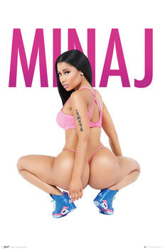 Nicki Minaj - Squat Affiche