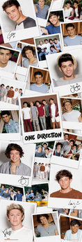 One Direction - polaroids Affiche
