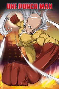 One Punch Man - Saitama Affiche