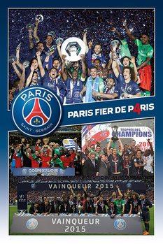 Paris Saint-Germain FC - Celebration  Poster