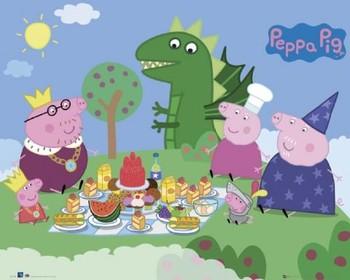 PEPPA PIG - picnic Affiche