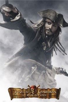 Pirates of Caribbean - Jack full Affiche
