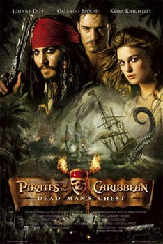 Pirates of Caribbean - one sheet Affiche